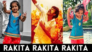 Rakita Rakita Rakita Lyric | Dhanush | Jagame Thandhiram | Baby Dance Video | Santhosh Narayanan