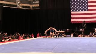 Sam Mikulak– Floor Exercise – 2015 P&G Championships – Sr. Men Day 1