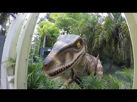 Raptor Encounter At Universal Orlando Islands Of Adventure & Kong Construction Update!!! (5.24.15)