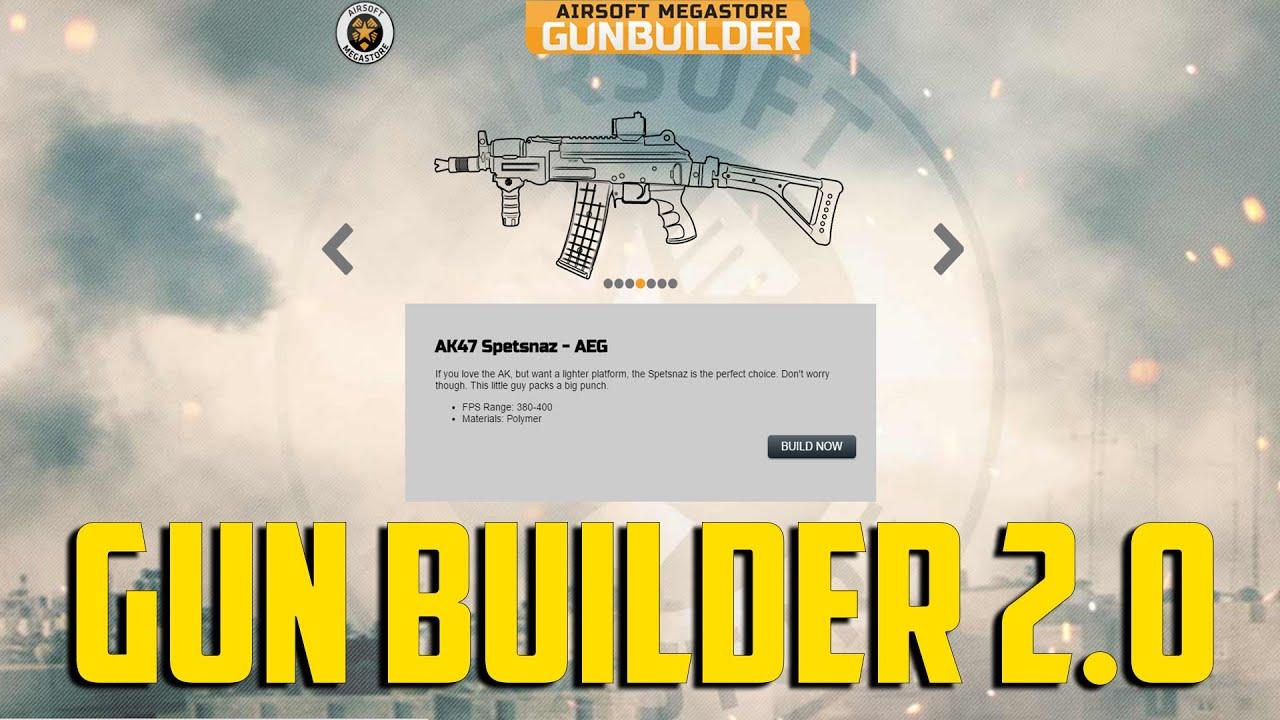 airsoft megastore gun builder 2 0 youtube