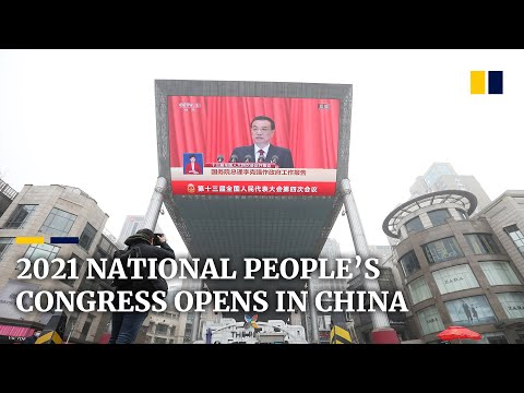 China's 2021 National People's Congress opens with Hong Kong's electoral system on the agenda