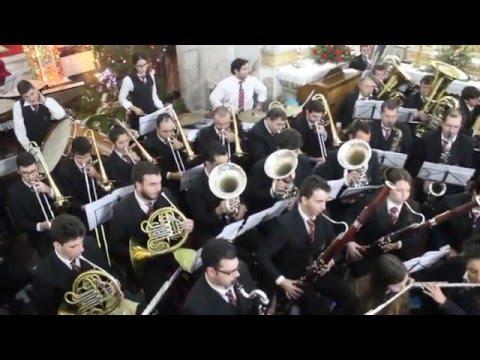 Banda Velha União Sanjoanense - Festa de Natal 2015 Freixieiro de Soutelo