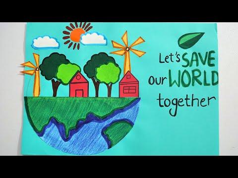 Environment Day Poster Environment Day Poster Competition Youtube
