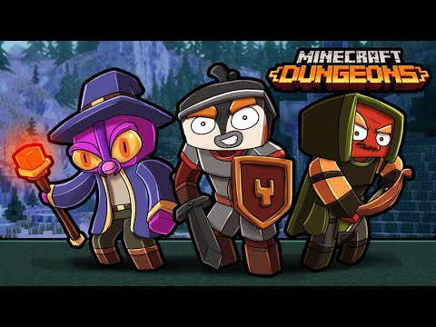 Mojang Let Me PLAY Their NEW Game! (Minecraft Dungeons)