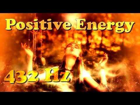 "POSITIVE ENERGY (432 Hz) Stimulation/Meditation - ""Dreaming Voices Calling Thunder"""