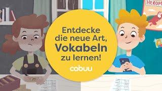 Lerne deine Vokabeln aktiv und mit Spaß!🚀 ● Probiere die cabuu-App