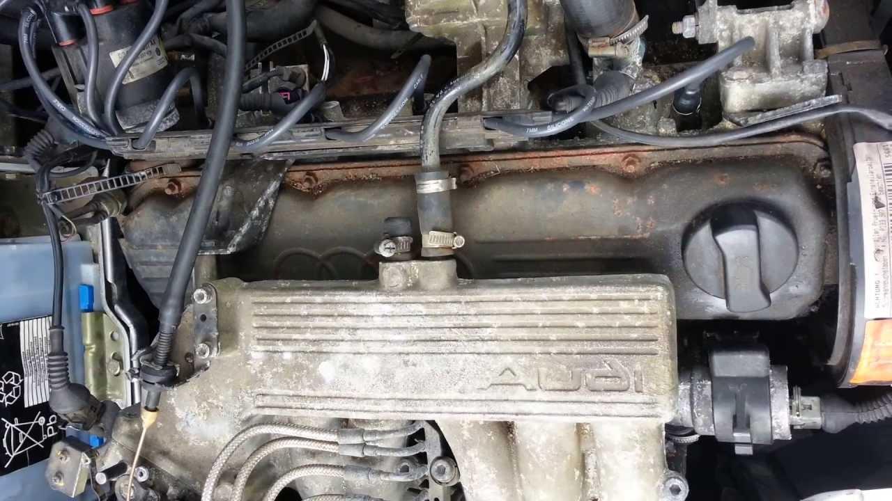 загибает ли клапана на двигателя audi 80 jn