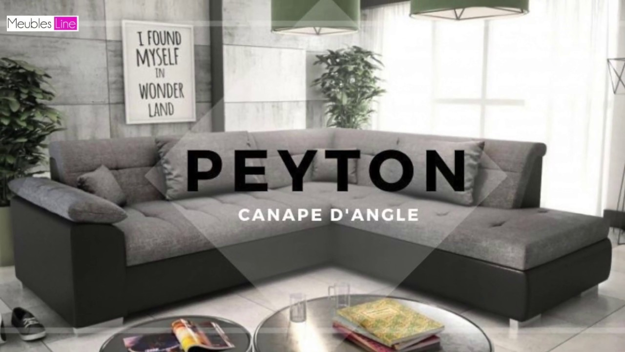 Interiors Meuble D Angle canapé d'angle convertible 5 places peyton