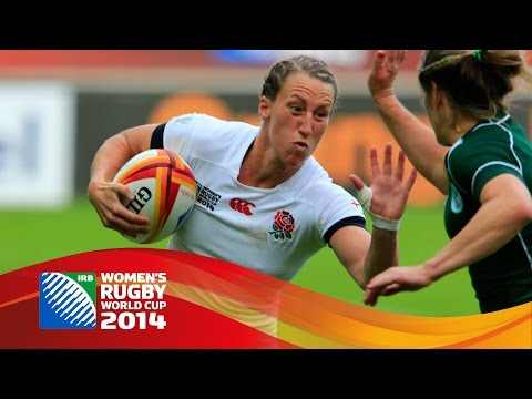 [HIGHLIGHTS] Ireland 7-40 England in Women's Rugby World Cup semi finals