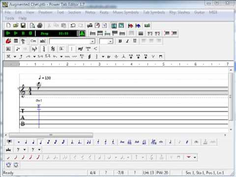 Using Power Tab Editor to Archive Guitar Licks