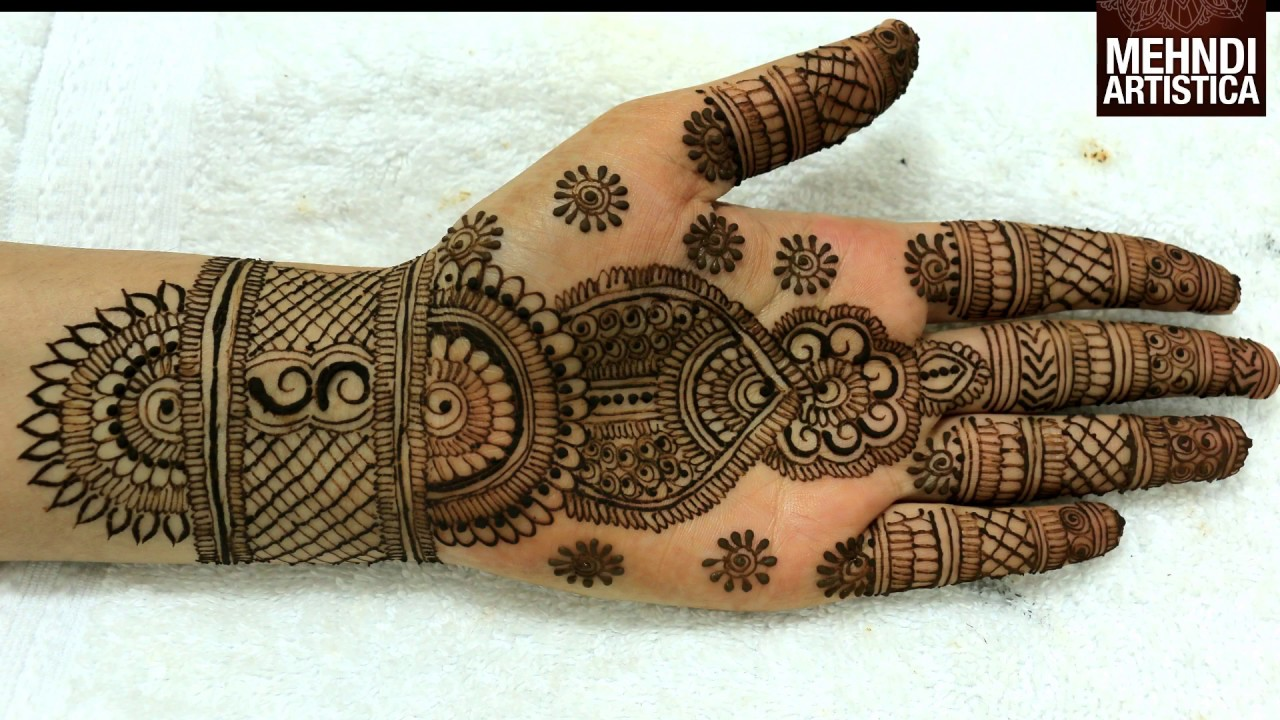 Traditional Henna Designs: Traditional Designer Trendy Mehndi Designs For Wedding