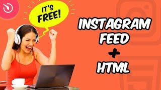 How to Embed Instagram Feed Widget to HTML Website (FREE)