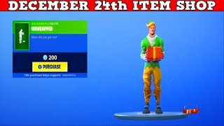 "Fortnite Item Shop (December 24th) | ""CODENAME E.L.F. WON'T COME BACK!"""