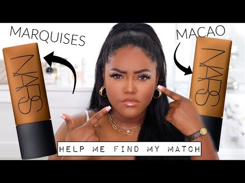 HELP ME FIND PICK MY NARS SOFT MATTE COMPLETE FOUNDATION   MACAO VS MARQUISES