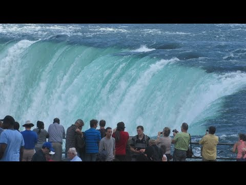 A Man Fall In Niagara Falls Caught On Video November , 2017