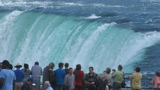 A Man Fall In Niagara Falls Caught On Video November , 2017