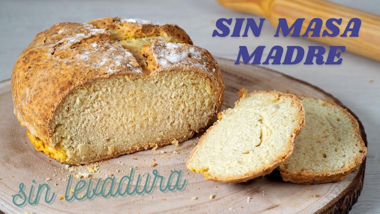 como hacer pan en casa fácil y rápido sin levadura