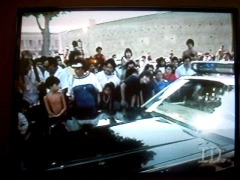 People Getting Out Of Car