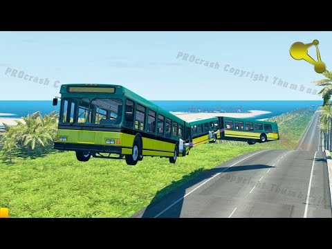 Articulated Bus Crashes BeamNG.Drive #6 |
