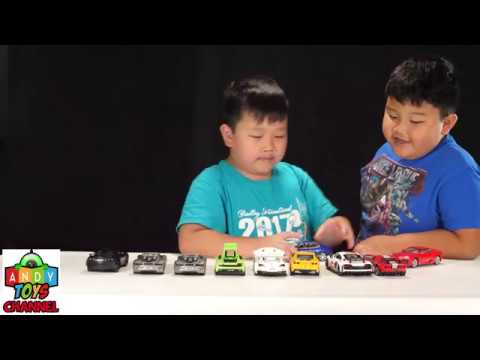 Andy Toys Exotic Cars Collection