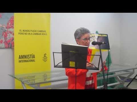 Montserrat Román. Coordinación del Grupo Local de Amnistía Internacional en La Palma