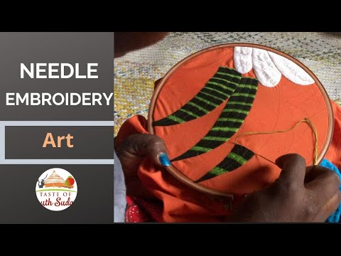 Needle Embroidery Art, South Sudan Africa