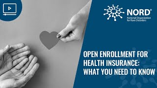 Open Enrollment for Health Insurance: What You Need to Know