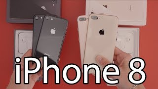 Apple iPhone 8 et 8 Plus : Déballage et prise en main (Unboxing)