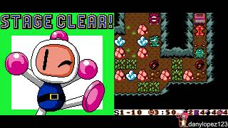 "[TAS Dual] GBC Bomberman Max - Blue Champion & Red Challenger ""Bad Ending"" (Cyoris210)"