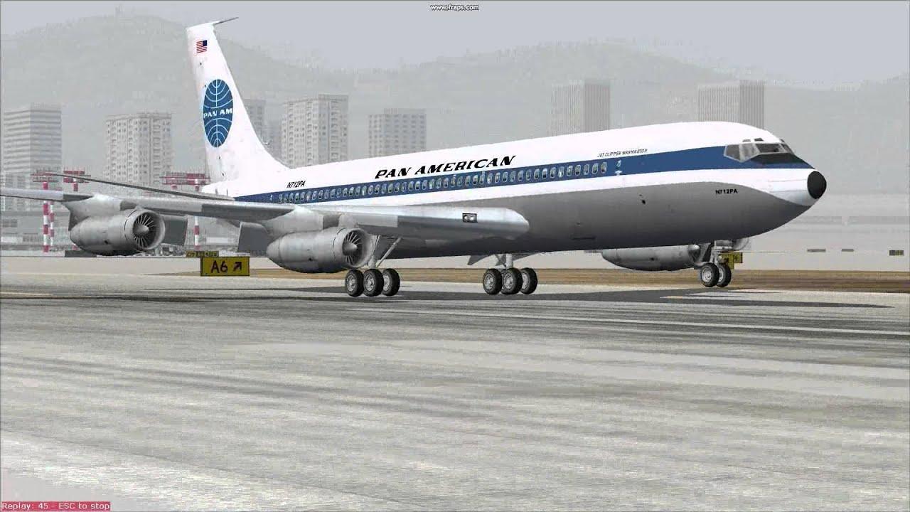 Raw Footage  Boeing 707