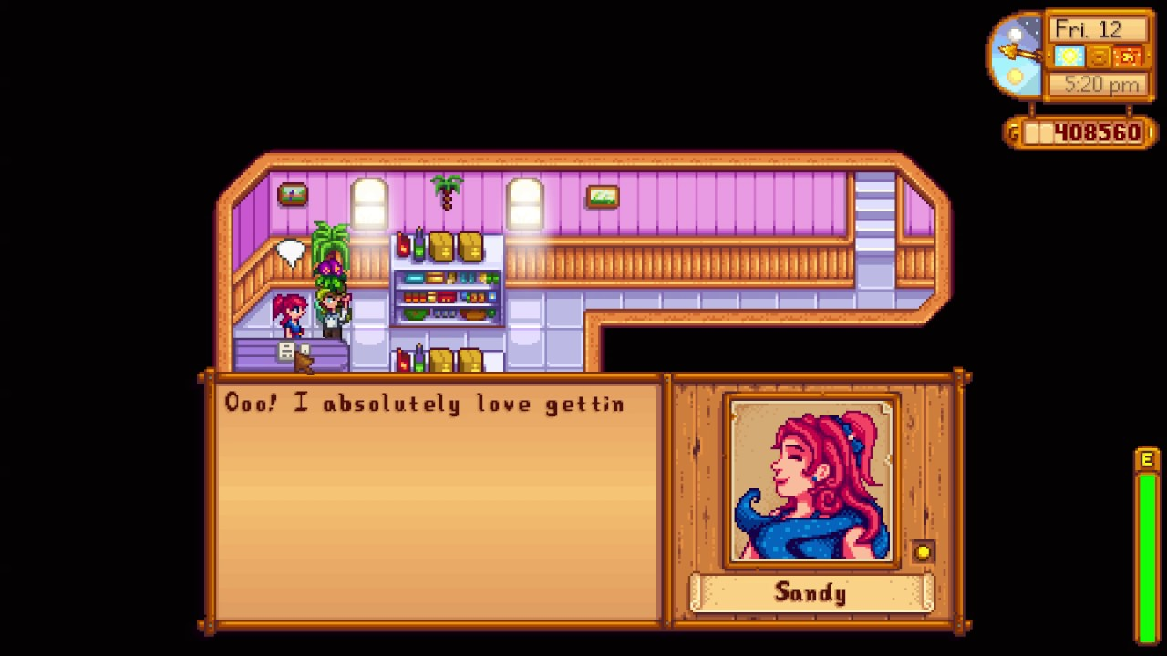 stardew valley how to send a gift