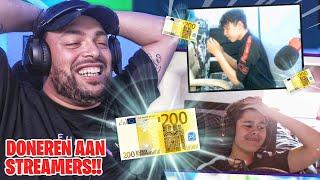 *NEW* 200 EURO DONEREN AAN STREAMERS - QUCEE REAGEERT
