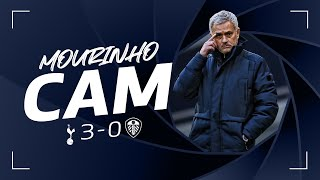 MOURINHO CAM | SPURS 3-0 LEEDS | Jose's reactions from the touchline