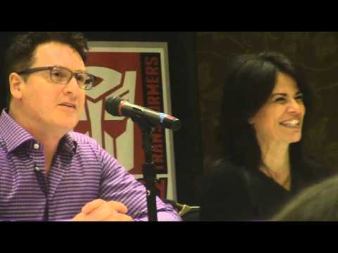 Botcon 2016: David Kaye & Venus Terzo - Voice Acting Panel