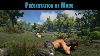 ARK / Présentation de mods / DPs Tranqulizer Sniper Rifle / ep 2