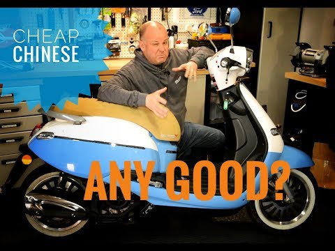 Chinese Scooter Review | Living with the Lexmoto Valletta