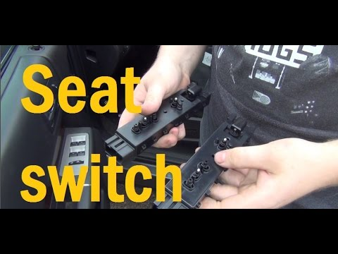 Ford       Flex      Power Seat Switch   Repair Video  YouTube