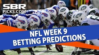 Free NFL Picks | Week 9 Game Predictions & Free Picks | SBR Roundtable