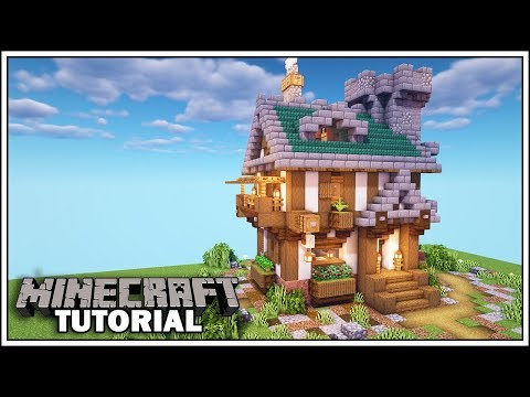 minecraft-1.14-medieval-house-tutorial-[how-to-build]