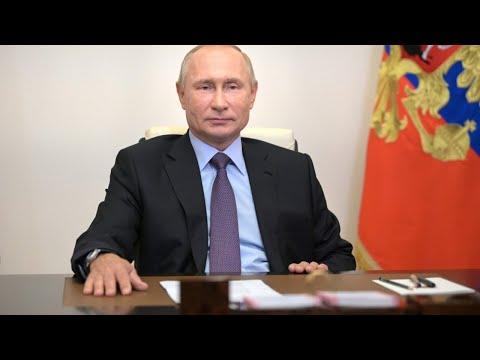 Путин на совещании по эпидемиологической обстановке