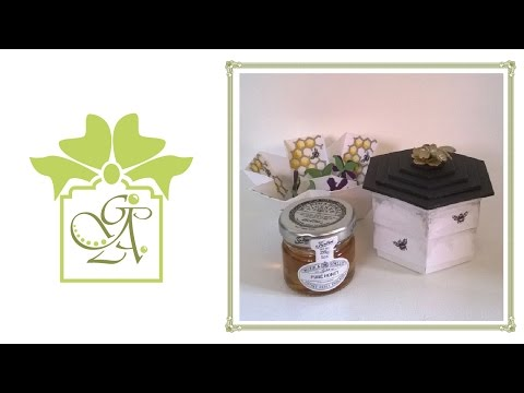 Beehive Box © (Drop Sided Hexagonal Gift Box Tutorial)