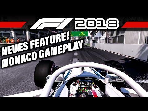 F1 2018 Erstes Gameplay + ERS Manuell einstellbar | Formel 1 2018 Monaco Hotlap von Charles Leclerc