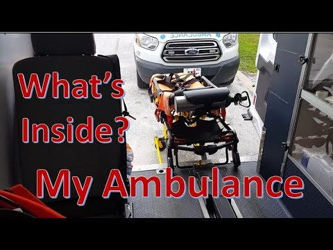 A quick look inside my ambulance! Basic Life Support