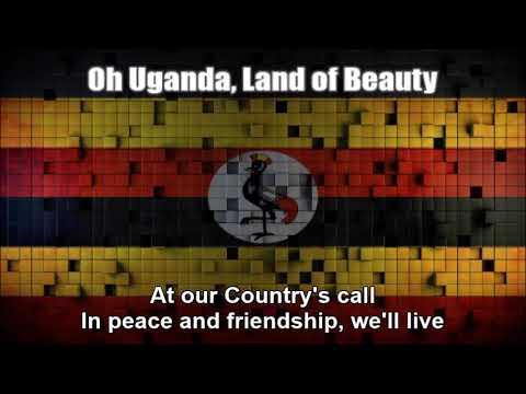 Ugandan National Anthem (Oh Uganda, Land of Beauty) - Nightcore Style With Lyrics