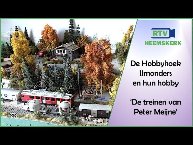 De Hobbyhoek - IJmonders en hun hobby: De treinen van Peter Meijne