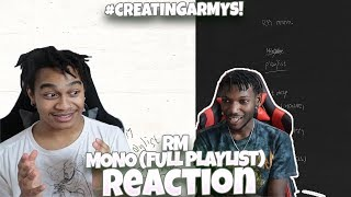 Baixar RM (BTS) - mono [FULL PLAYLIST] - REACTION | #CreatingARMYs!