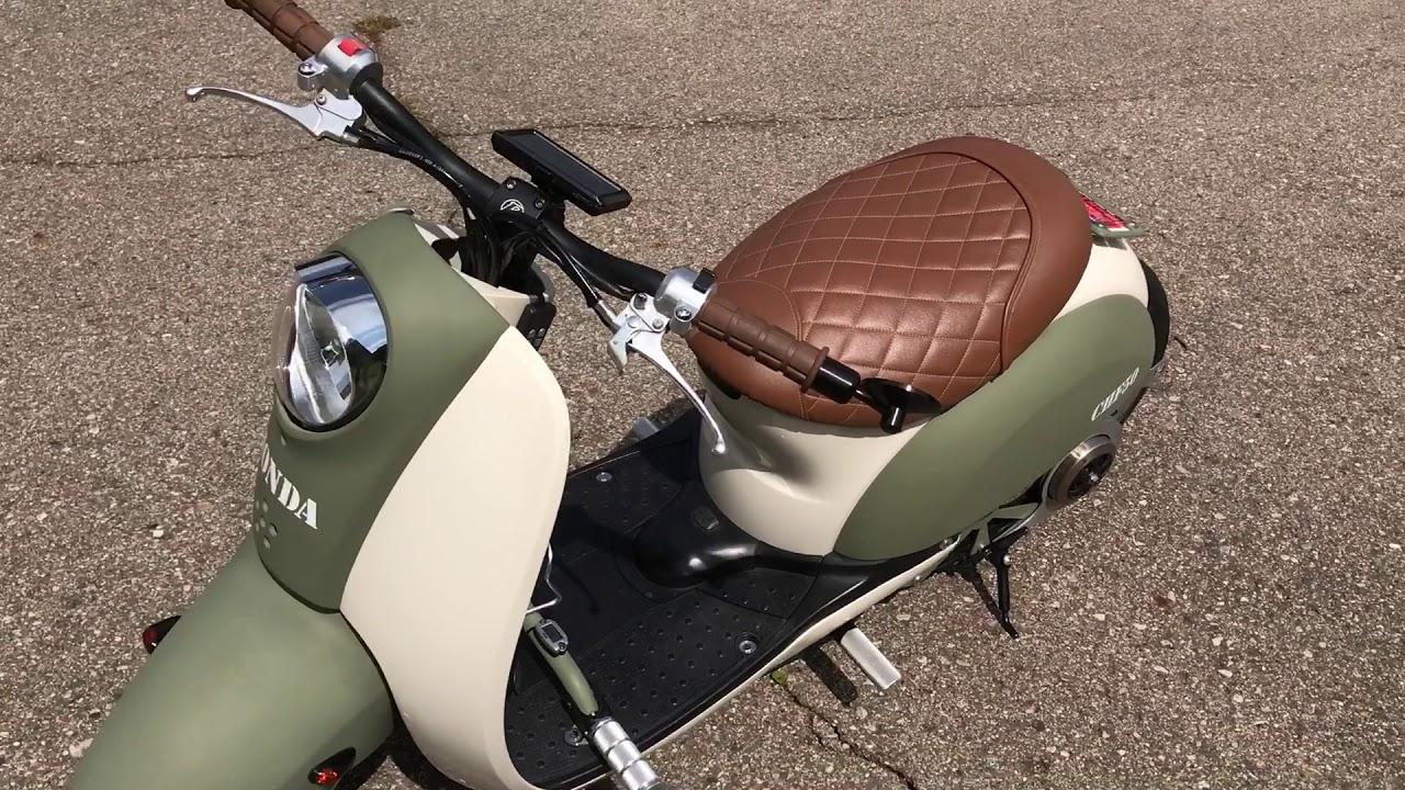 Custom Honda Metropolitan Scooter - YouTube