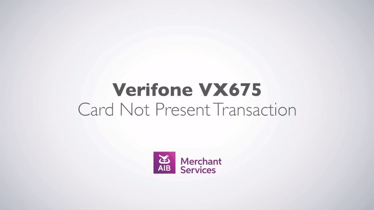 SOLVED: Dear Friends, I have a problem with VeriFone vx675