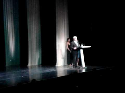 Greg Jbara's Acceptance Speech