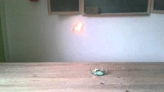 Chemie Experiment 69 - Fliegender Teebeutel